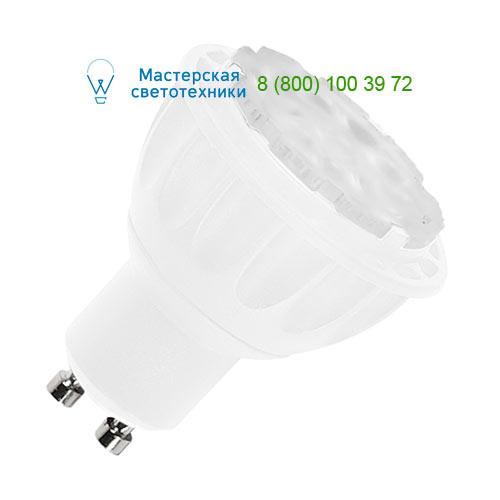 560613 SLV by Marbel LED GU10 источник света 7Вт, 230В, изменяемый угол 25-40-55°, 3000К, 300лм, диммируемый, белый корп
