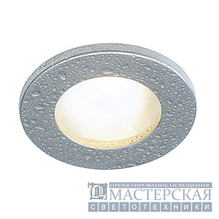 FGL OUT GU10 downlight, round, titanium, max. 35W