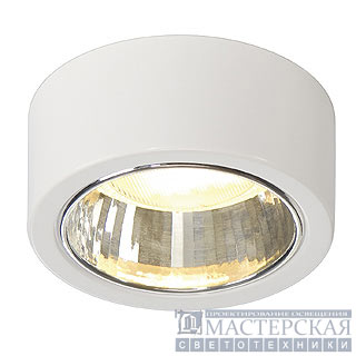 Ceiling luminaire, CL 101 GX53 , round, white, max. 11W