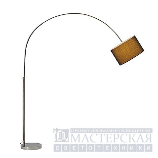 SOPRANA BOW arc lamp, SL-1, black shade, E27, max. 60W