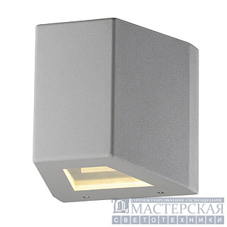 OUT-BEAM R7s, wall lamp, silvergrey, max. 150W, IP44