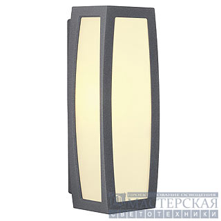 Marbel SLV 230085 MERIDIAN BOX wall lamp, anthracite, E27, max. 20W, with motion detector