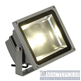 LED OUTDOOR BEAM, silvergrey, 30W, warmwhite, 130°, IP65