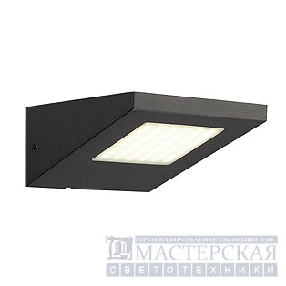 IPERI WL wall lamp, anthracite , 48 LED, pure-white, 4000K