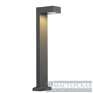 QUADRASYL floor lamp, SL 75, square, anthracite, GX53, max. 11W