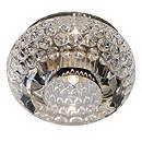 SLV 114931 CRYSTAL 8 светильник встр. G4 20Вт макс., хром/стекло прозрачное кристаллическое