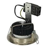 LUZO LED DISK светильник встр. 14.5Вт, 2700К, 800lm, матовый хром