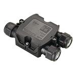 SLV 228726 Коробка монтажная IP68 для кабеля 6-11 мм, 3 входа