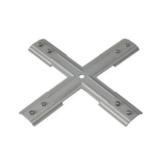 143169 1PHASE-TRACK, пластина фиксации Х-коннектора , никель, SLV