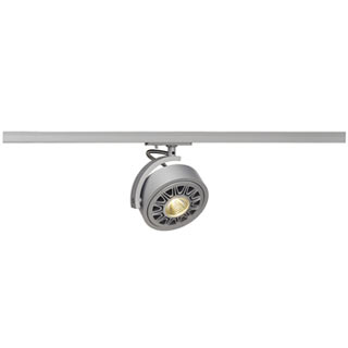 143544 KALU TRACK QPAR111 Leuchten- kopf, silber,inkl. 1P.-Adapter, SLV