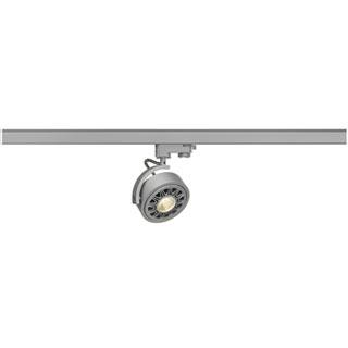 152614 3Ph, KALU TRACK ES111 светильник для лампы ES111 75Вт макс., серебристый, SLV
