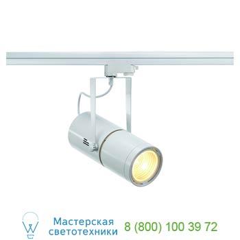 153831 3Ph, EURO SPOT G12-E светильник с ЭПРА для лампы HQI-T/CDM-T G12 50Вт, 15°, белый, SLV