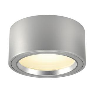 161464 LED AUFBAUSTRAHLER 1800lm, rund, silbergrau, 48 LED, 3000K, SLV