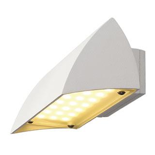 227051 NOVA LED WALL OUT Wandleuchte, weiss, 4.2W, 3000K, IP44, SLV