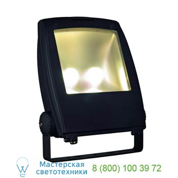 231173 LED FLOOD LIGHT 80W, schwarz, 3000K, 120°, SLV