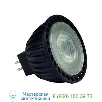 551244 LED MR16 источник света SMD LED, 12В, 3.8Вт, 40°, 4000K, 225lm, SLV