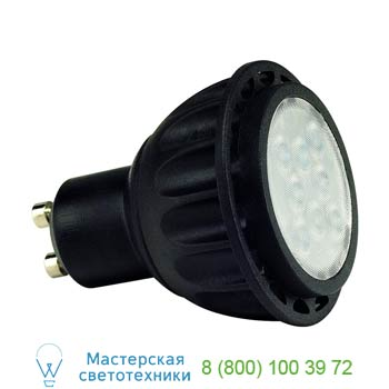 551283 LED GU10 источник света из 8-ми SMD LED, 220В, 7Вт, 36°, 3000K, 320lm, диммируемый, SLV