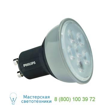 560122 PHILIPS MASTER LEDSPOT GU10 источник света из 6 SMD LED, 4.5Вт, 230В, 36°, 2700K, 305lm, диммируемый, SLV
