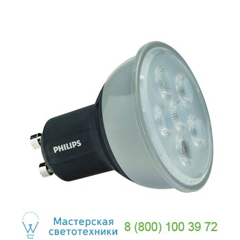 560123 PHILIPS MASTER LEDSPOT GU10 источник света из 6 SMD LED, 4.5Вт, 230В, 36°, 3000K, 305lm, диммируемый, SLV