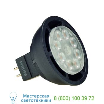 560172 PHILIPS MASTER LED SPOT MR16 источник света из 8 SMD LED, 12В, 6.5Вт, 36°, 2700K, 390lm, диммируемый, SLV