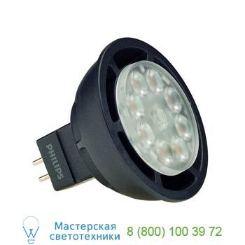 560173 PHILIPS MASTER LED SPOT MR16 источник света из 8 SMD LED, 12В, 6.5Вт, 36°, 3000K, 420lm, диммируемый, SLV