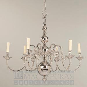 CL0002.NI Dutch Chandelier 6 Light потолочный светильник Vaughan