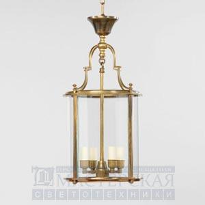 CL0006.BR Huntingdon Round Lantern потолочный светильник Vaughan