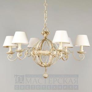 CL0011.IV Piccard Chandelier потолочный светильник Vaughan