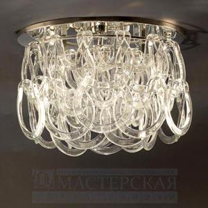 CL0022.NI Rouen Flush Ceiling Light потолочный светильник Vaughan