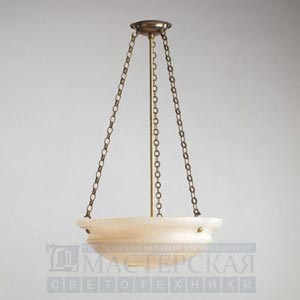CL0029.BR Dyrham Alabaster Bowl Ceiling Light потолочный светильник Vaughan