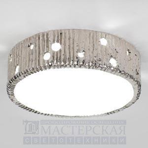 CL0033.NI Jupiter Flush Ceiling Light потолочный светильник Vaughan