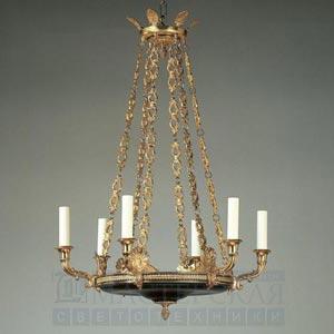 CL0047.BK Serrant Empire Chandelier потолочный светильник Vaughan