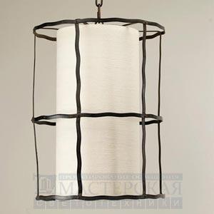 CL0065.RU.SE Beziers Shade Lantern потолочный светильник Vaughan