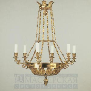 CL0069.GI Fontainebleau Chandelier потолочный светильник Vaughan