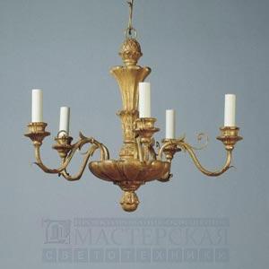 CL0082.GI.SE Giltwood Rococo Chandelier потолочный светильник Vaughan