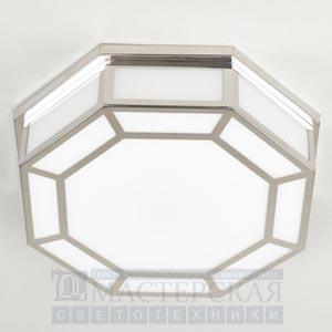 CL0109.NI.SE Hunton Octagonal Flush Ceiling Light потолочный светильник Vaughan