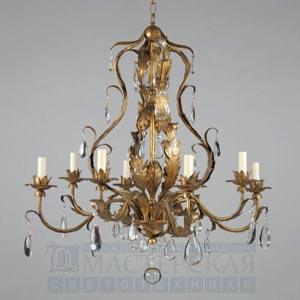 CL0110.GI Chambord Gilt Chandelier потолочный светильник Vaughan