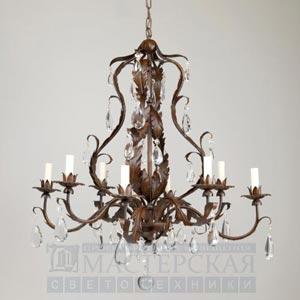 CL0110.RU Chambord Rust Chandelier потолочный светильник Vaughan