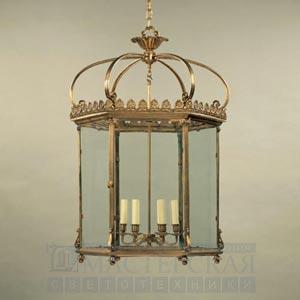 CL0117.BR Wilton Hall Lantern потолочный светильник Vaughan