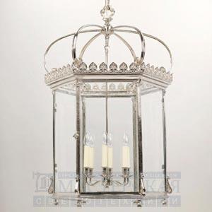 CL0117.NI Wilton Hall Lantern потолочный светильник Vaughan