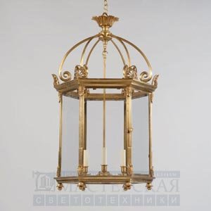 CL0121.BR Rousham Hall Lantern потолочный светильник Vaughan