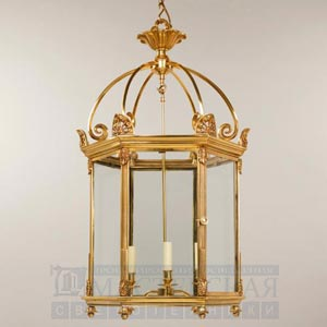 CL0121.GI Rousham Hall Lantern потолочный светильник Vaughan