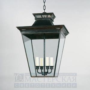 CL0130.BZ Mottisfont Porch Lantern, External потолочный светильник Vaughan