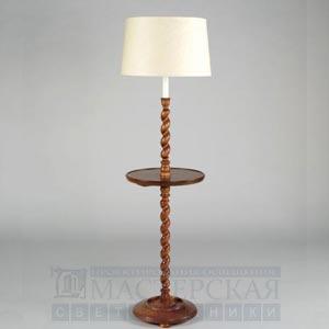 SL0022.OA Wantage Twisted Wood Floor Lamp торшер Vaughan