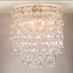 CL0008.NI Seville Flush Ceiling Light потолочный светильник Vaughan