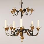 CL0160.GI Ninfa Floral Chandelier потолочный светильник Vaughan