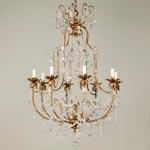 CL0186.GI Brissac Chandelier потолочный светильник Vaughan