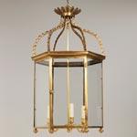 CL0232.BR Regency Hall Lantern потолочный светильник Vaughan