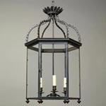 CL0232.BZ Regency Hall Lantern потолочный светильник Vaughan