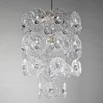 CL0268.NI Verbier Crystal Chandelier потолочный светильник Vaughan